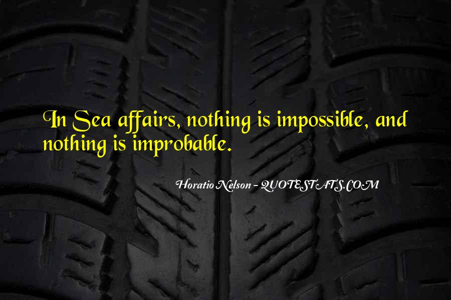 Nelson Horatio Quotes #1016734