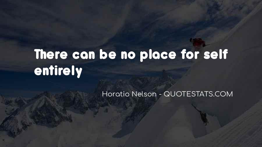 Nelson Horatio Quotes #1383335