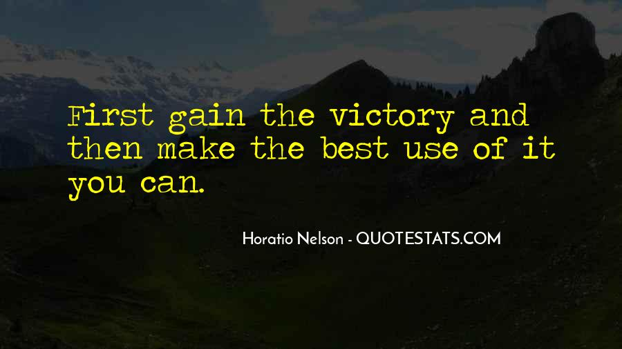 Nelson Horatio Quotes #1593244
