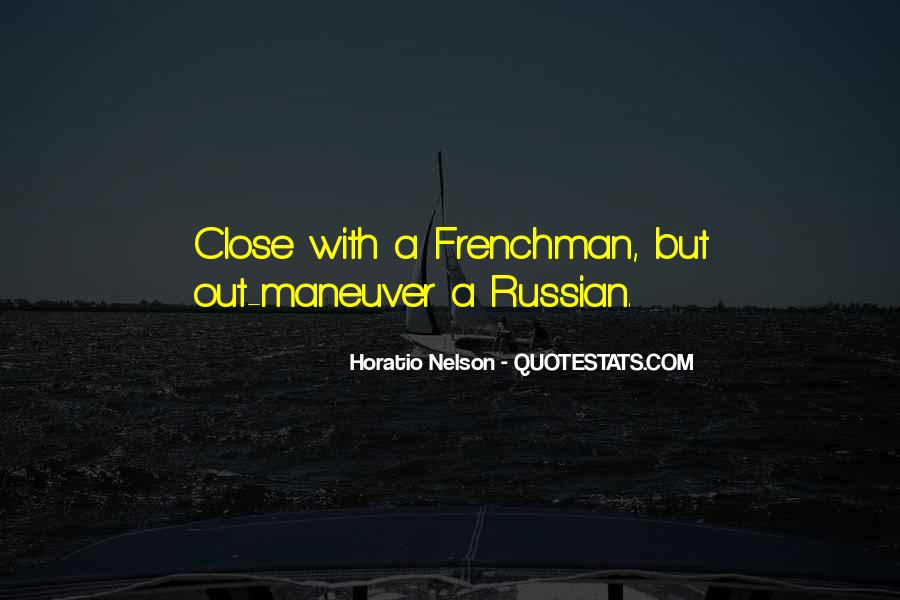 Nelson Horatio Quotes #1620146