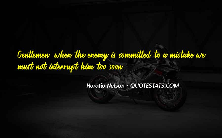Nelson Horatio Quotes #163958