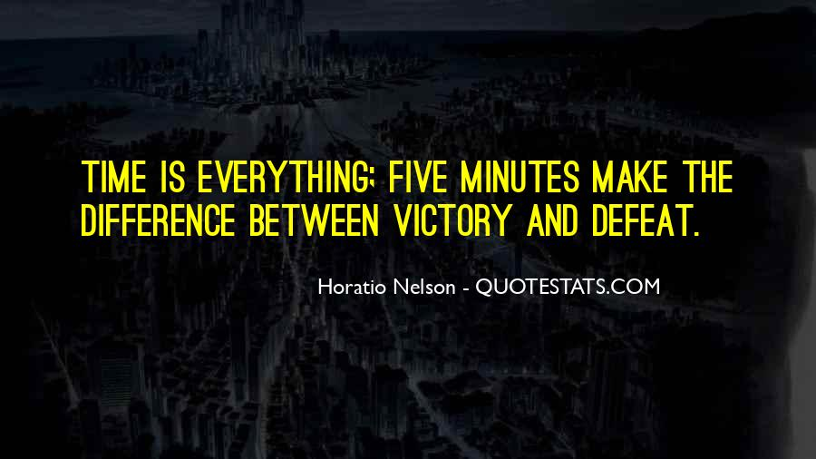 Nelson Horatio Quotes #1806890