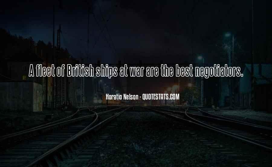 Nelson Horatio Quotes #1862147