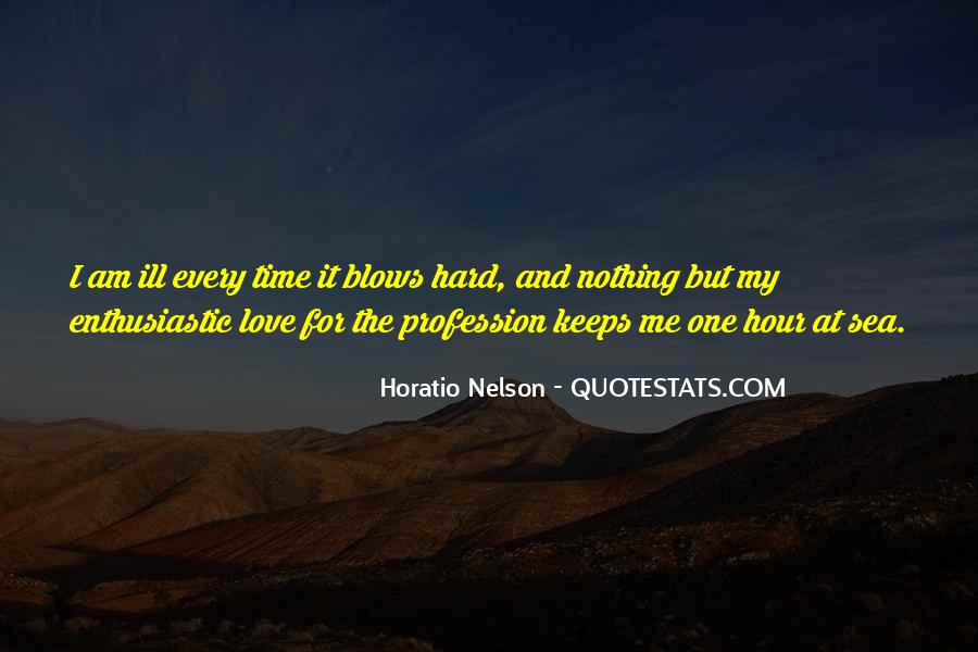 Nelson Horatio Quotes #548112