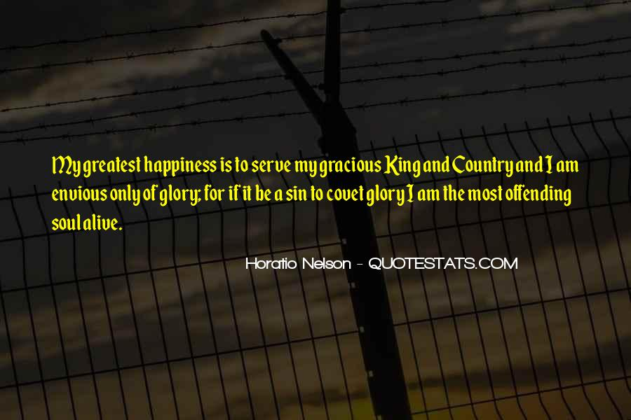 Nelson Horatio Quotes #638482