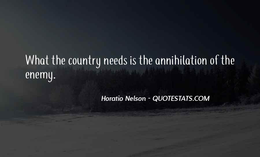 Nelson Horatio Quotes #79477