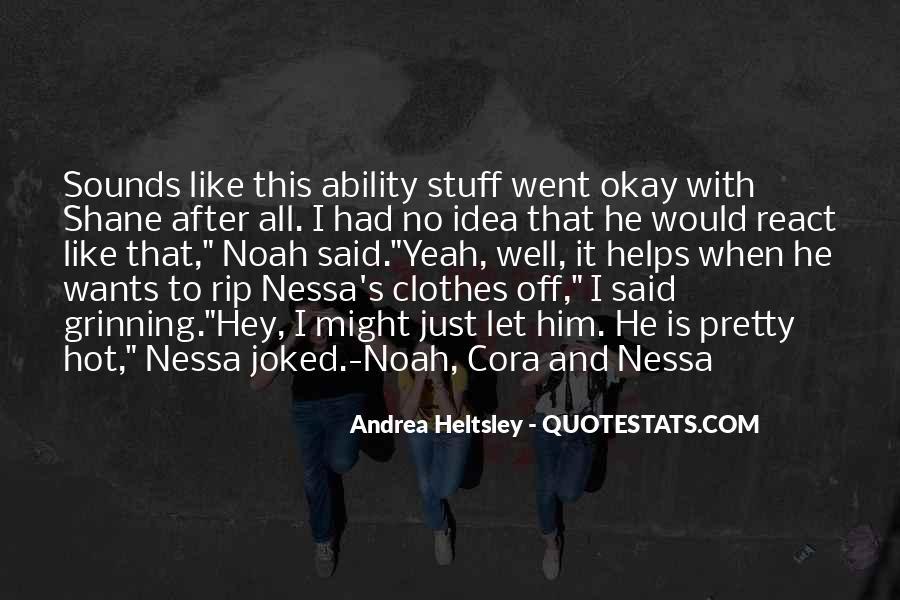 Nessa's Quotes #637641