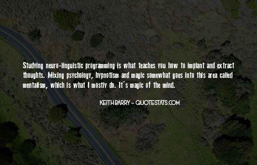 Neuro Linguistic Quotes #1412339