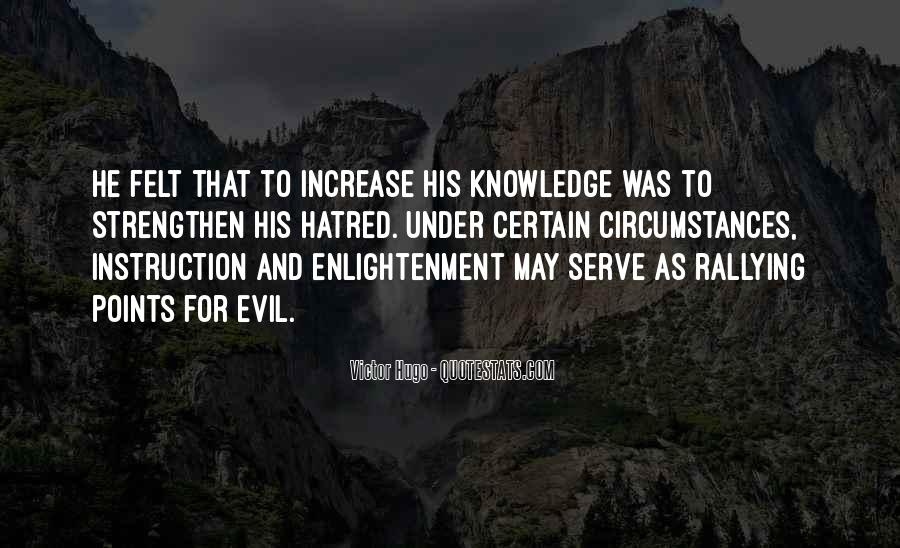 Quotes About Certain Knowledge #1099961