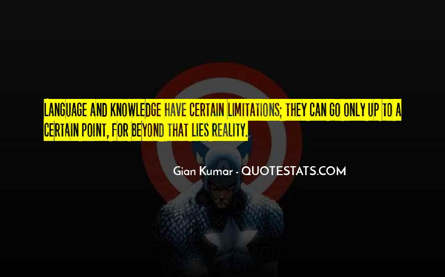 Quotes About Certain Knowledge #1159770