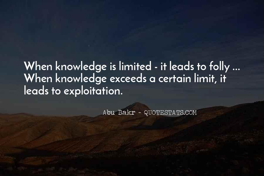 Quotes About Certain Knowledge #1172177
