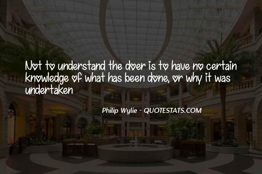 Quotes About Certain Knowledge #1217125