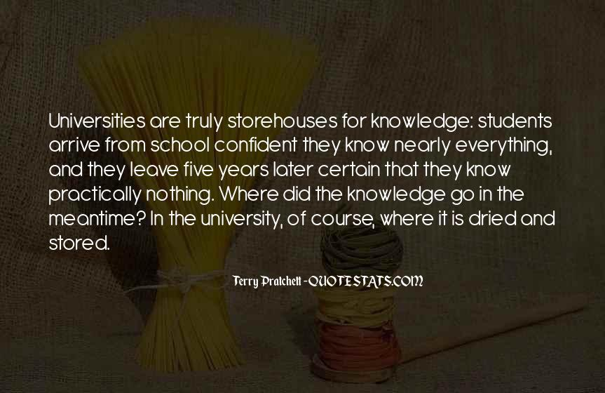 Quotes About Certain Knowledge #1230451