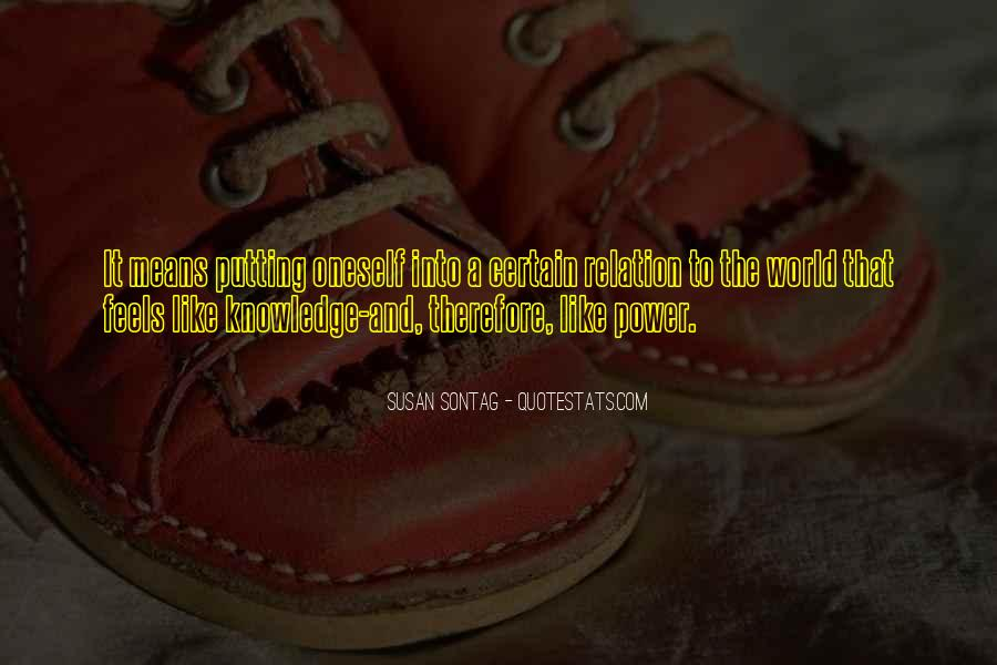 Quotes About Certain Knowledge #204614