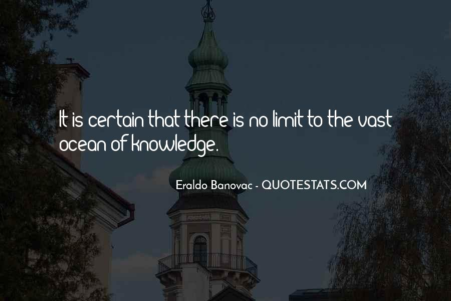 Quotes About Certain Knowledge #205697