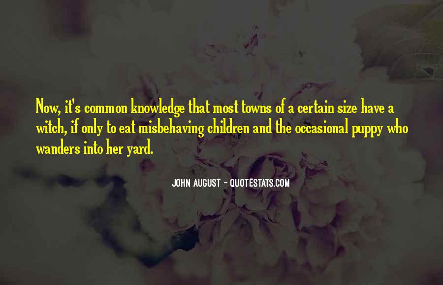 Quotes About Certain Knowledge #226158