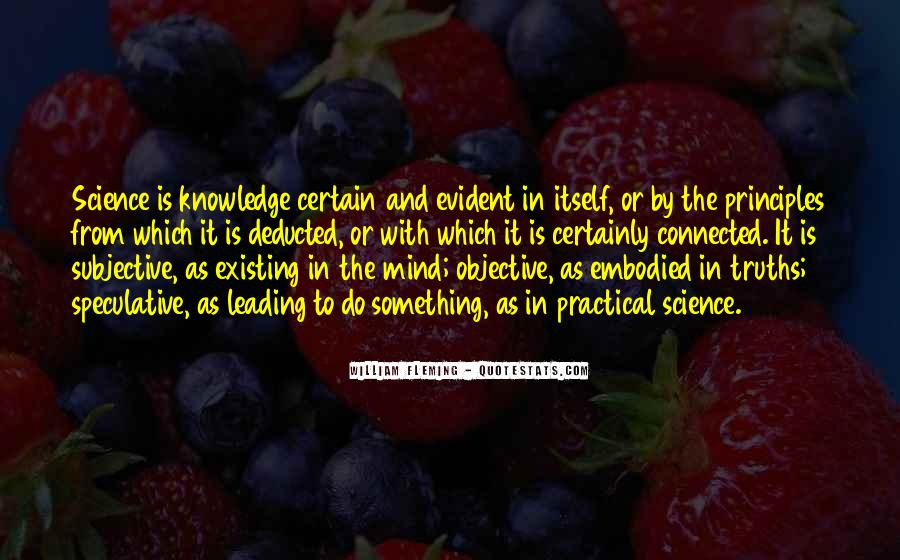 Quotes About Certain Knowledge #335374