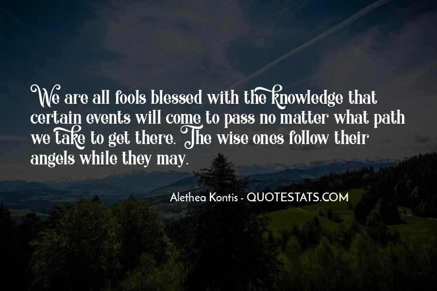 Quotes About Certain Knowledge #541021