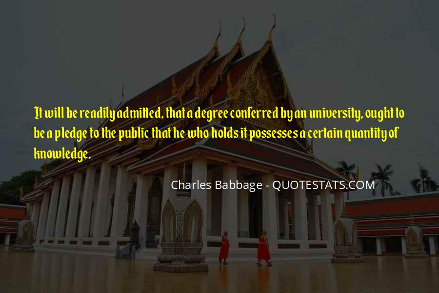 Quotes About Certain Knowledge #614428