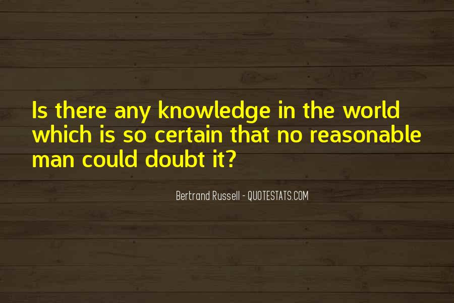 Quotes About Certain Knowledge #682120