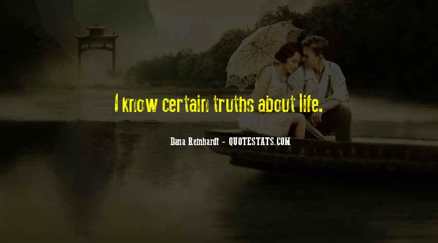 Quotes About Certain Knowledge #695020