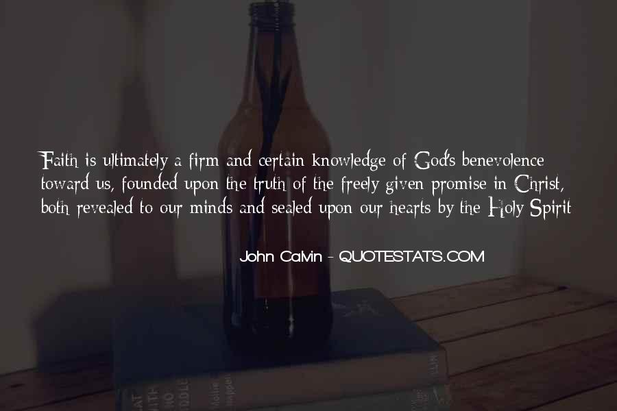 Quotes About Certain Knowledge #781703