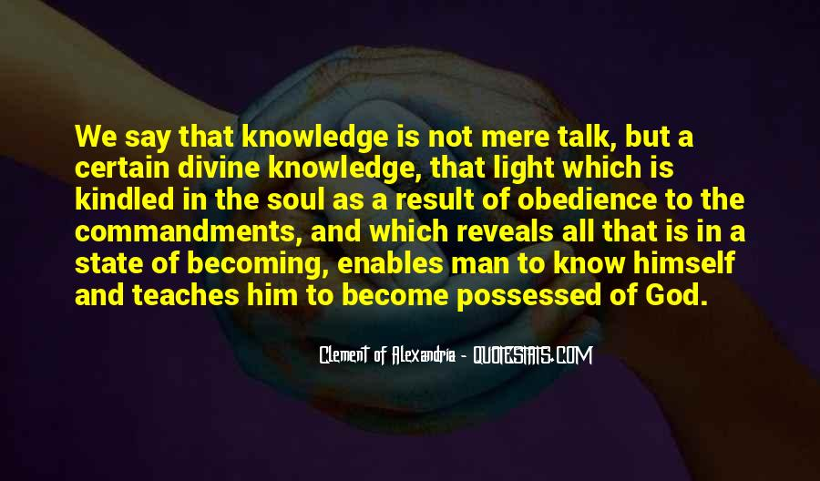 Quotes About Certain Knowledge #856446
