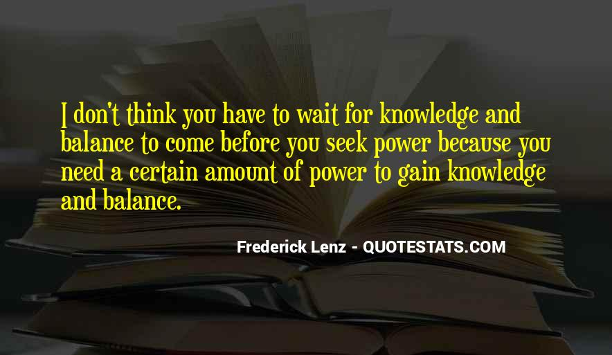 Quotes About Certain Knowledge #869788