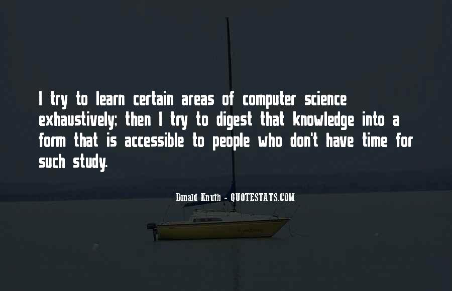 Quotes About Certain Knowledge #976711