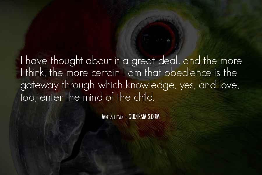 Quotes About Certain Knowledge #98125