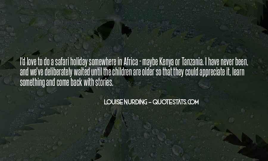 Never Appreciate Love Quotes #1243597