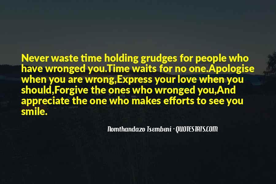 Never Appreciate Love Quotes #298022