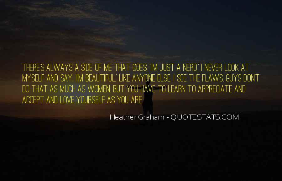Never Appreciate Love Quotes #387566