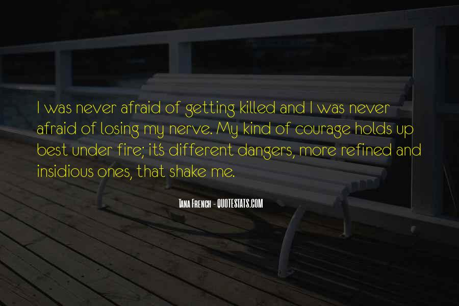 Never Be Afraid To Be Different Quotes #238121
