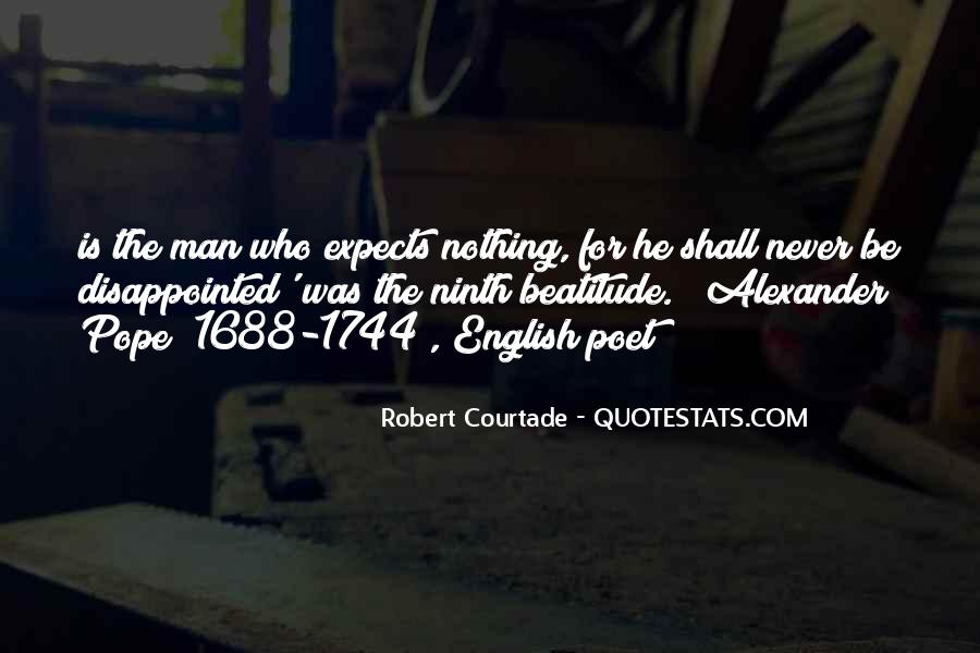 Never Be Disappointed Quotes #1585242