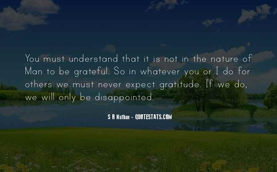 Never Be Disappointed Quotes #31232
