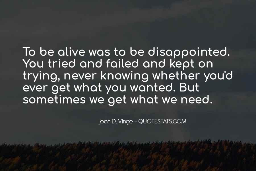 Never Be Disappointed Quotes #496372