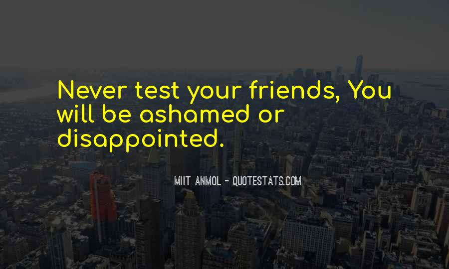 Never Be Disappointed Quotes #606749