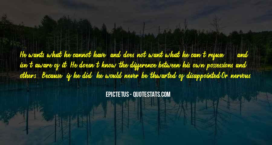 Never Be Disappointed Quotes #864855