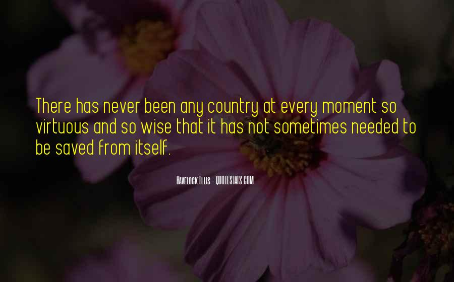 Never Been Quotes #11037