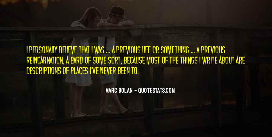 Never Been Quotes #13167