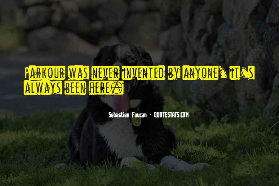 Never Been Quotes #19409