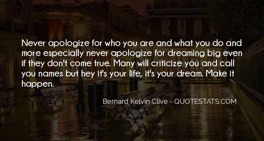 Never Criticize Quotes #185623