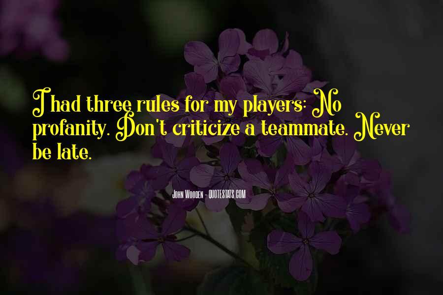 Never Criticize Quotes #324578