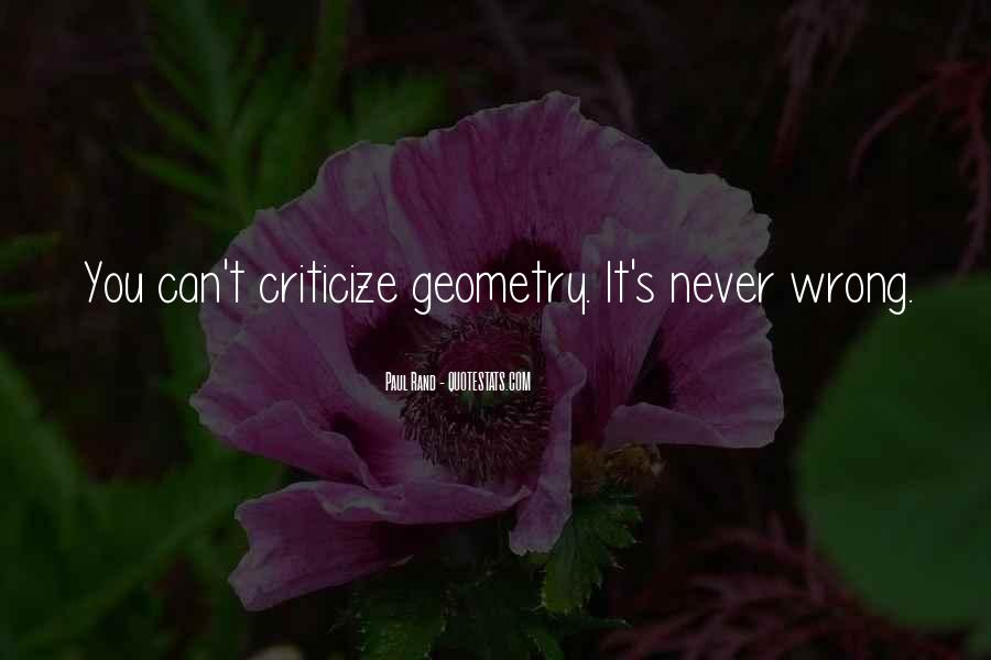 Never Criticize Quotes #361517