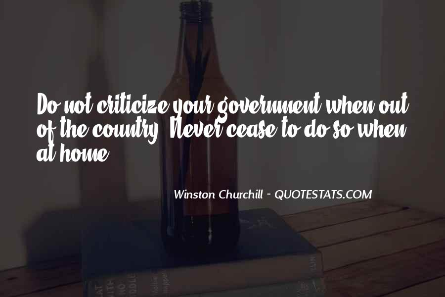 Never Criticize Quotes #481309