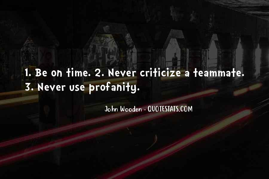 Never Criticize Quotes #886653