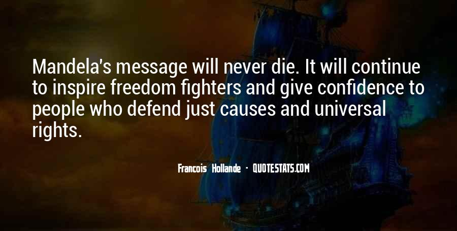 Never Defend Yourself Quotes #48355