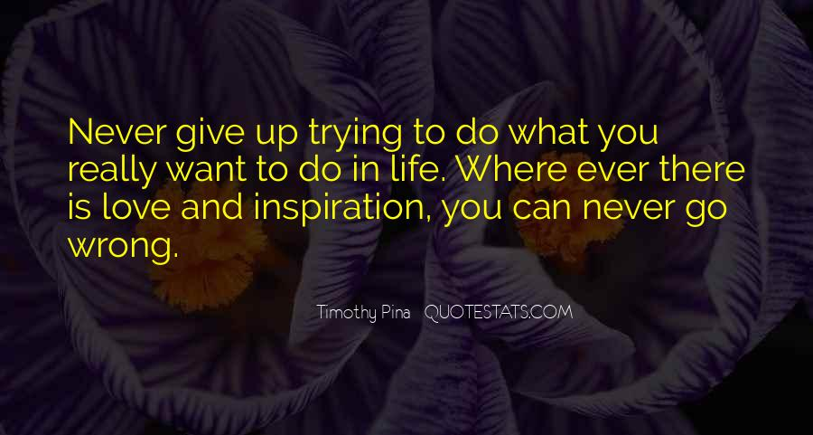 Never Ever Give Up Quotes #162731