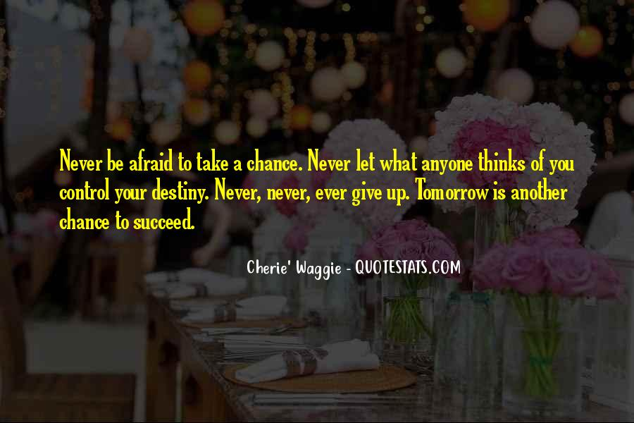 Never Ever Give Up Quotes #1861005